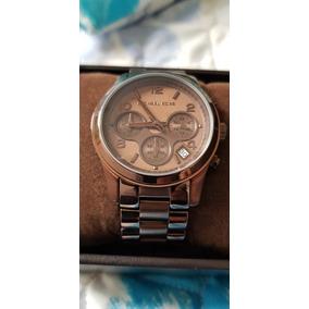 Relogio Michael Kors Feminino Chocolate Modelo 5607 - Relógios De ... 59b9a0db4c