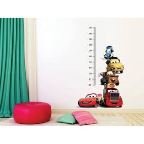 Vinilo Decorativo Metro Infantil Cars Habitación Bebés
