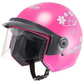 Capacete Moto Feminino Pro Tork Liberty 3 For Girls Rosa