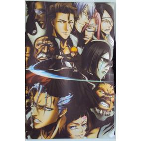 Poster Mural Pergaminho Em Tecido Anime Bleach