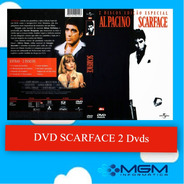 Dvd Scarface - Al Pacino ( 1983 ) - 2 Dvds