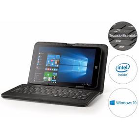 Tablet 2en1 Pc Windows 10 Intel Atom Quadcore 8´ Con Teclado
