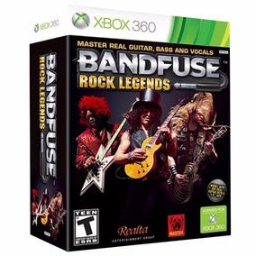 Bandfuse: Rock Legends (game + Cabo) - Xbox 360 - Lacrado