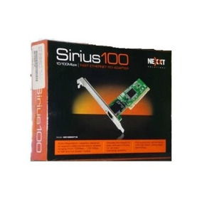 Tarjeta De Red Nexxt Solutions Adapter 10/100 Pci Sirius