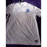 Camiseta De Inglaterra Nike Original Mundial 2014 Nueva