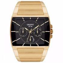Relógio Orient Masculino Quadrado Ggssm001 P1kx + Nf-e