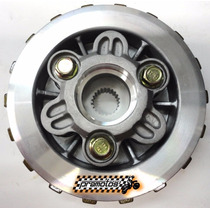 Kit Cubo Platô Discos Separadores Embreagem Biz 125 Cobreq