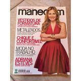 Revista Manequim 590 Adriana Esteves Metalizados Vestidos