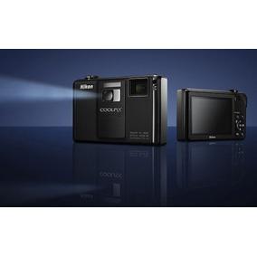 Maquina Fotográfica Nikon Coolpix S1000pj Projetor Promoção