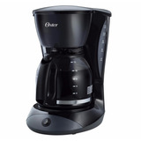 Cafetera Oster Bvstdcdw12b Capacidad De 12 Tazas Negra