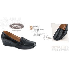 Zapatos Dama Shosh Piel Borrego 142714 Psco.