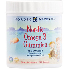 Nordic Naturals - Nordic Omega-3 Gummies, Apoya El Cerebro