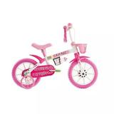 Bicicleta Kit Kat Aro 12 Rosa Track Bikes
