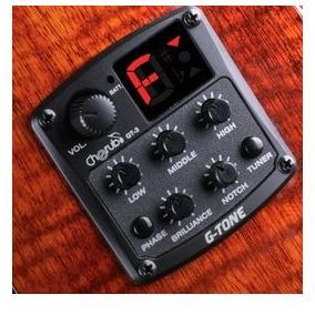 Ecualizador Cherub Gt-3 G-tone Con Afinador Para Guitarra