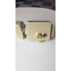 Chapa Electrica Control Acceso Pillips Iz Y Der. Con Botón