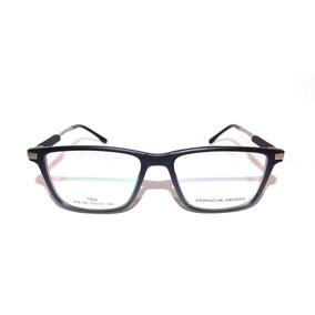 bc34710abffea Oculos Grau Masculino Porsche - Óculos Preto no Mercado Livre Brasil