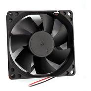 Cooler Para Gabinete E Fonte Atx 8x8 Cm Preto