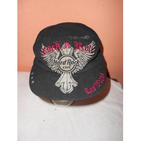 Hard Rock Cafe***gorra Negra Las Vegas Original***