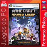 Minecraft Story Mode Complete Edition / Pc Fisico / Español