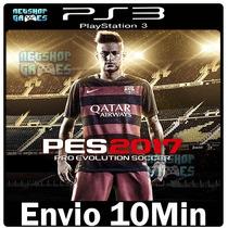 Pes 2017 Portuguê Psn Ps3 Play3 [* Midia Digital Envio Já *]