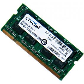 Memoria Ram Ddr3 2gb Para Laptop Marca Crucial Nuevas