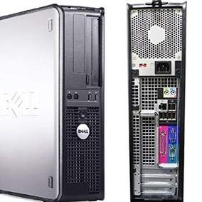 Computador Cpu Pc Desktop Dell Core 2 Duo 2gb Hd 80gb + Wifi