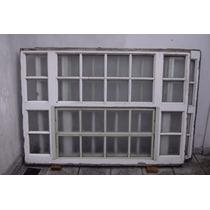 Ventanal 1,45 X 2,05 Con Paño De Abrir Y Vidrios Fijos