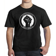 Camiseta Antifascista Resistência