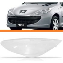 Lente Farol Peugeot 207 2009 10 11 12 13 2014 Esquerdo