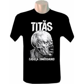 Camiseta Masculina Bandas Rock Titãs