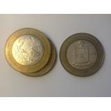 Moneda De 100 Pesos Estado De Nuevo León, Escudo, Plata