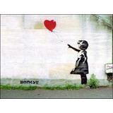Poster Foto Grafite 60x80cm Arte Banksy Sempre Há Esperança