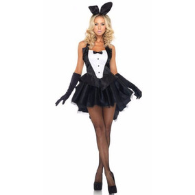 Disfraz Conejita Sexy Fiesta Halloween Pole Coneja Playboy