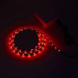 Rojo - Usb 3528 Tv Fondo Equipo Tira De Led Imp-431455196741