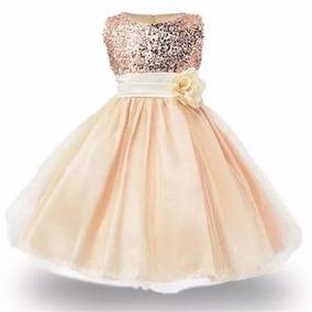 Vestido Para Niña De Fiesta De Lujo