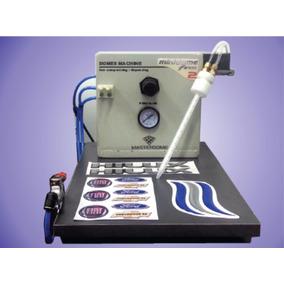 Màquina Calcos Resinadas Domes Mezcla Automàtica