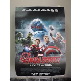 Poster Vingadores - A Era De Ultron - Frete 8,00