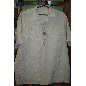Camisa Hawaiana Guayabera Cubavera Bowling Importada G 024