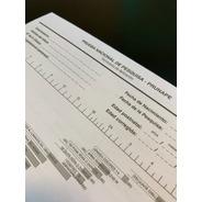 Fichas Formulario De Aplicación Prunape - Fundación Garrahan