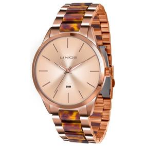 e6a14911419 Relógio Lince Rose Gold Feminino Lrr4381l R1rm Original Novo. R  196