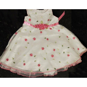 Vestido Importado Usa Sweet Heart Rose Bautizo Cortej Fiesta