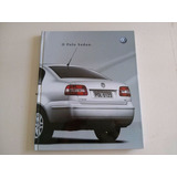 Livro Promocional Do Polo Sedan Volkswagen