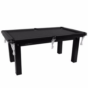 Mesa Sinuca / Bilhar / Snooker 1,87 X 1,08 Black Edition