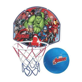 Tabela De Basquete + Bola Avengers - Vingadores Marvel Lider
