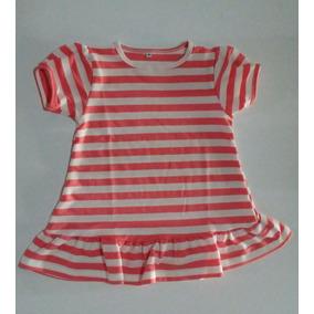 Vestido Para Niñas En Algodon