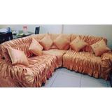 Forros Para Muebles De Sala Tipo L Seccional