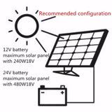 Controlador De Carga 30a Solar Eólico 12 - 24volts