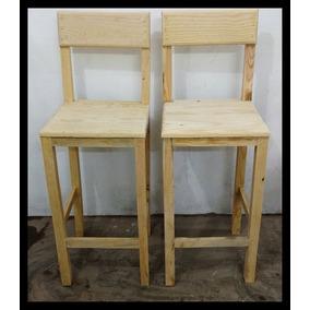 Barra de madera rustica en mercado libre m xico for Bancos de bar de madera