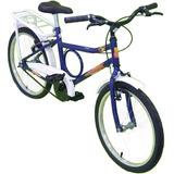 Bike Infantil Reforçada Mini Barra Forte Barrinha Aro 20