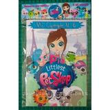 Littlest Pet Shop Promo X 30 Cuadernos Para Colorear O Lisos